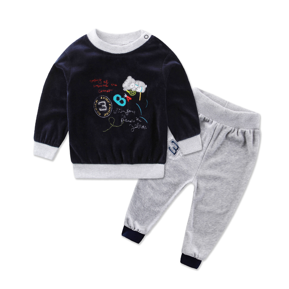2016-Little-Q-Spring-Long-Sleeve-Embroidery-Velour-Pullover-Blouse-Pants-Clothing-Set-fashion-girls-baby-clothes-outfits-1