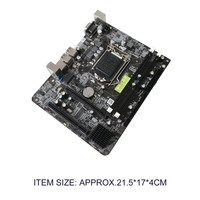 DIY PC Intel P55 6 Channel Mainboard Motherboard High Performance Desktop Computer Mainboard CPU Interface LGA 1156