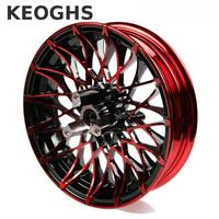 Keoghs Double Twin Brake Disc Front Wheel Rim 12 2 75 Inch Aluminum Alloy 70mm Disc