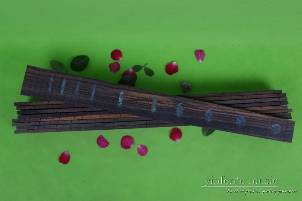 Guitar Accessories 1  pcs   x  25.5electric   Guitar Fretboard electric guitar rose  Wood Fretboard Parts 00-037# inlay guitar accessories 1 pcs x 25 5electric guitar fretboard electric guitar rose wood fretboard parts 00 019 inlay