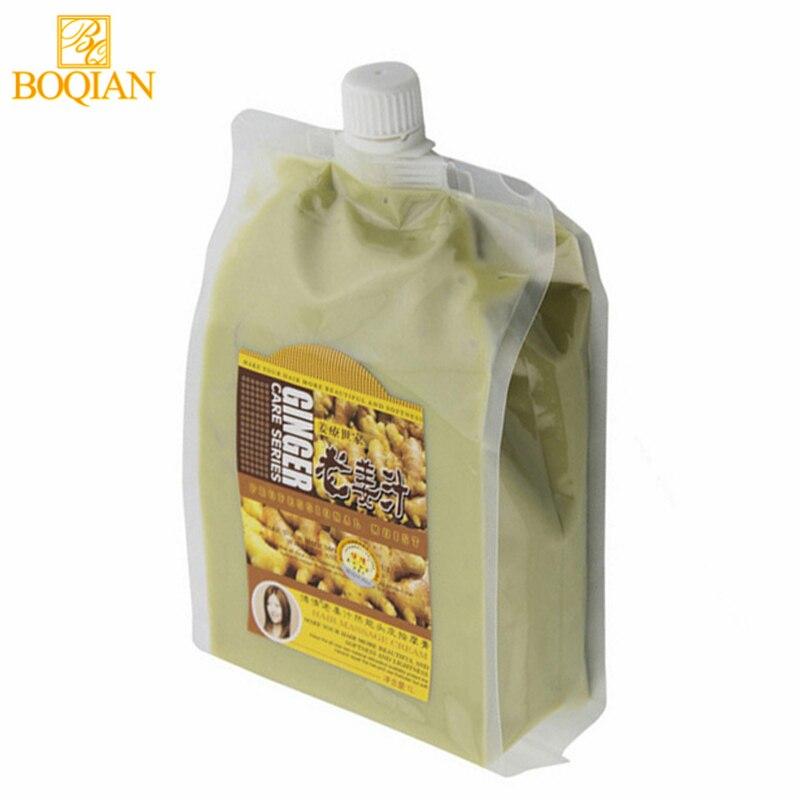 BOQIAN Ginger Hair Mask Moisturizing Nourishing For Dry Damaged Hair Scalp Massage Cream Treatment Conditioner Hair Care Product маска insight professional dry hair nourishing mask