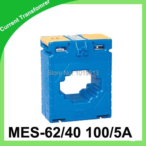low voltage current transformer ring-type CT MES-62/40 100/5 class0.5 1VA toroidal transformer