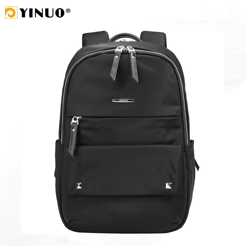 YINUO Women Backpack For 12inch 13inch 14inch Laptop Backpack Waterproof High Capacity Anti Theft Travel Bag Teenager Mochila