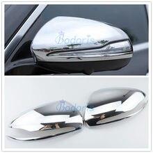 Для Mercedes Benz AMG New C E GLC Class X253 C253 W213 W205 S205 A205 C205 W222 боковое зеркало покрытие хромированный автомобильный Стайлинг аксессуар
