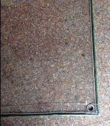 customize 5mX7m full transparent outdoor covered , waterproof pvc trapaulin, 100% transparent rain cloth.
