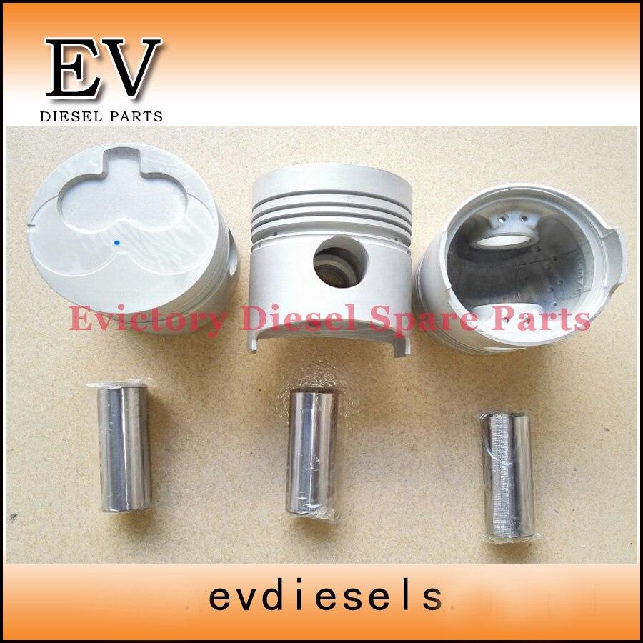 For Isuzu Mini excavator 3AD1 piston include piston pin and clip For Isuzu Mini excavator 3AD1 piston include piston pin and clip