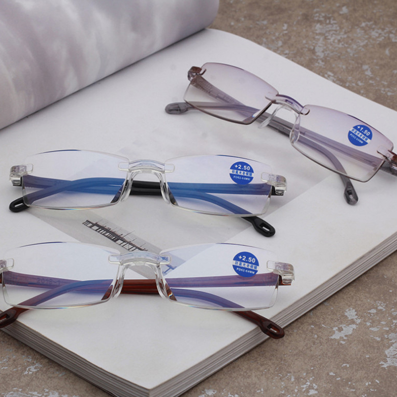 db7bfbf057 SHAUNA de colores mezclados marco mujeres de ojo de gato gafas de Marco  damas Anti-
