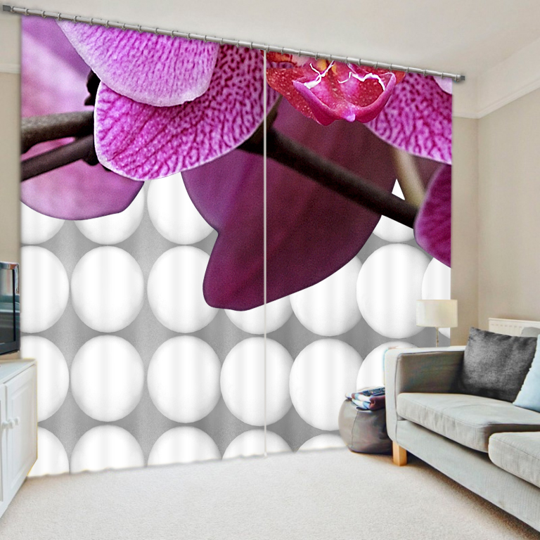 3D Abstrakte Blumen Vorhänge für Wohnzimmer Fenster Behandlungen Moderne Vorhänge für Beding Zimmer hochpräzise Schatten-in Vorhänge aus Heim und Garten bei  Gruppe 2