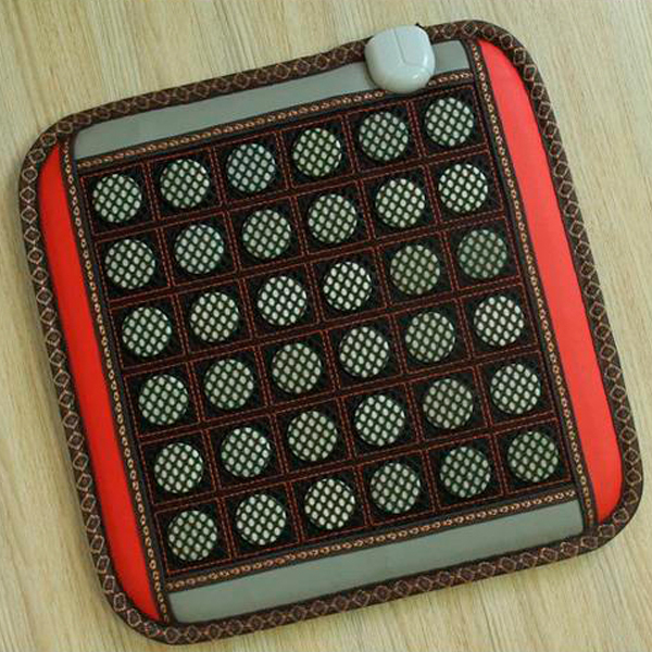 Hot Sale!  Electric Heated Jade Pad /Jade,Tourmaline,Germanite Massage Jade Cushion with Heating 45*45CM Free Shipping