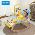 Fashion Solid Wood Baby Rocking Chair, Baby Appease Chair, Baby Shaker, Shaking Chair for 0-4 Years Old Kids