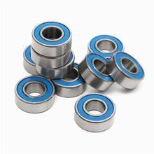 Синяя уплотнительная крышка 10 шт. ABEC-5 MR128-2RS MR128 2RS MR128 RS 8x12x3,5 мм резиновая уплотнительная крышка миниатюрный глубокий шаровой подшипник
