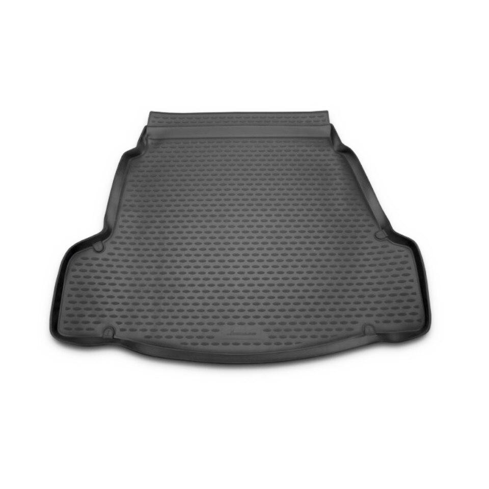 Car trunk mat for Hyundai i40 (2012-) Element NLC2050B10 waterproof anti slip car trunk mat protector cover car pet dog mat for hyundai tucson black