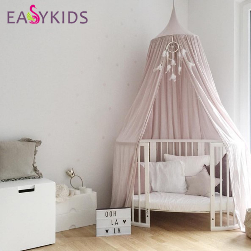 lovely baby hammock crib netting big top hanging toy tent for children play game tents kids birthday party decoration best gift in underwear from mother