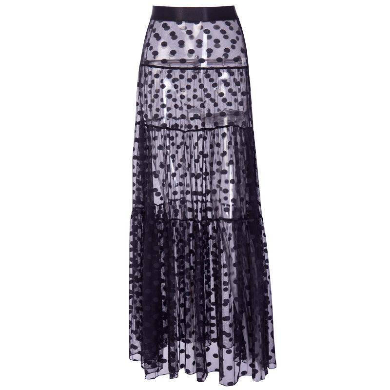 Women's Waist White Skirt 14