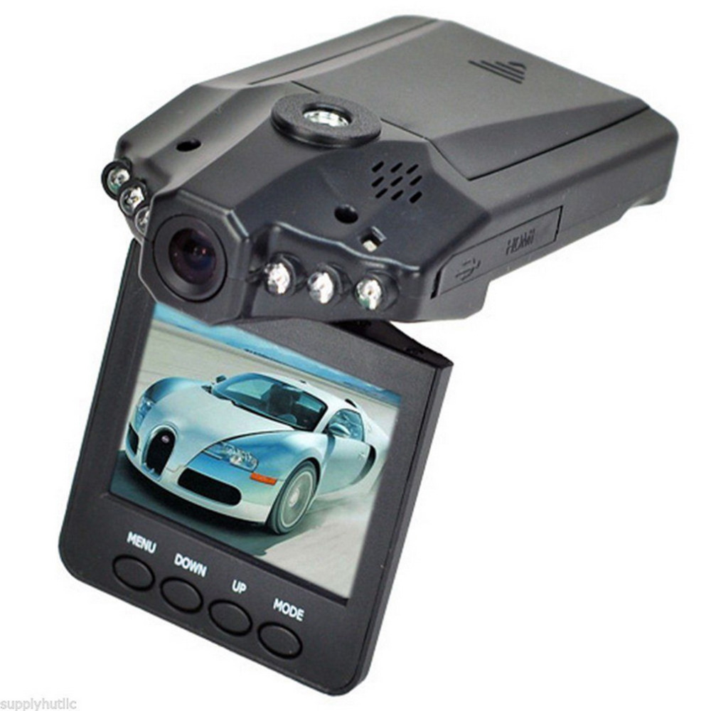 Promotion 6LED 2 5 TFT 270 degrees rotation angle HD Car DVR Vehicle font b Camera