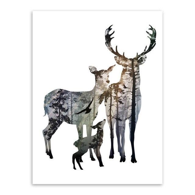 Painting Deer Skulls White
