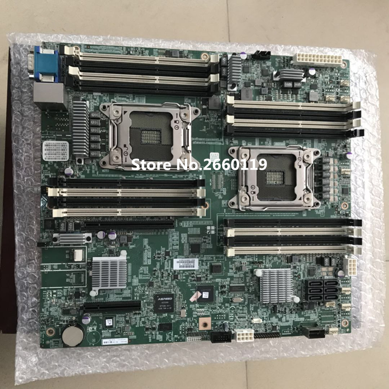 Server Mainboard For B810 X79 C602 2011 Motherboard Fully Tested