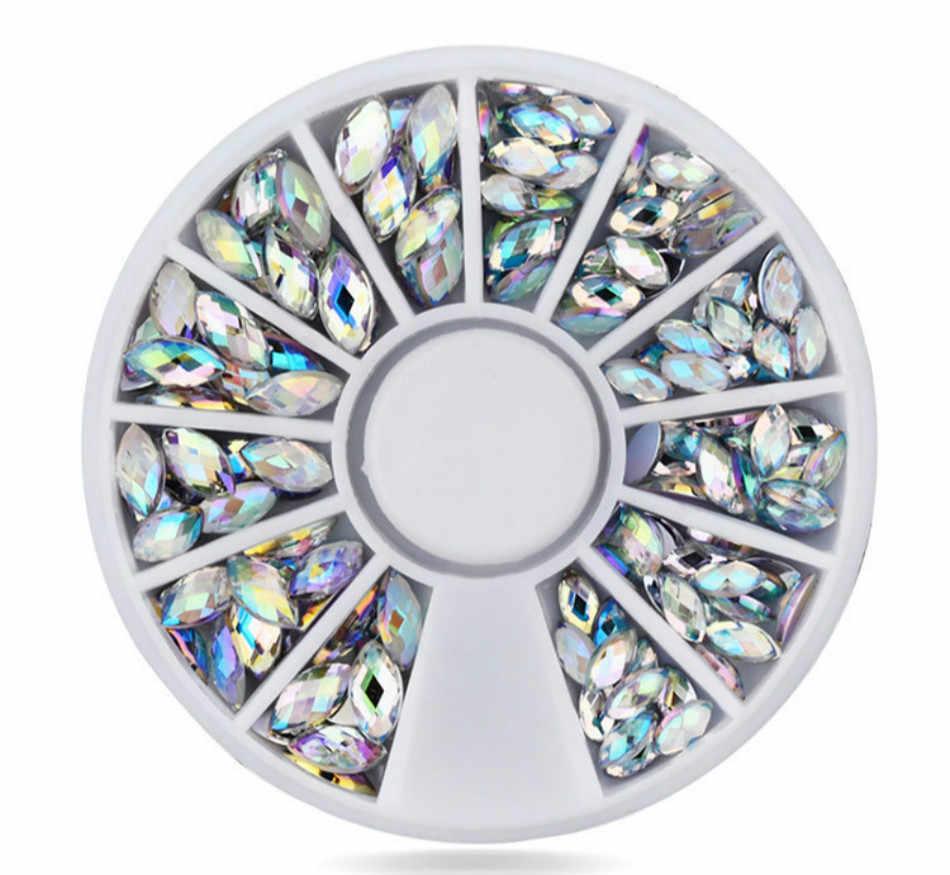 1 piezas mezclada todo tipo de tallas elipse moda mujer Color Natural uñas falsas puntas artificiales uñas arte Acrílico herramienta de la manicura