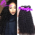 10A Mongolian Kinky Curly Virgin Hair 4 Bundles Unprocessed Curly Hair Bundle Deals Soft Human Mongolian Kinky Curly Hair Weave
