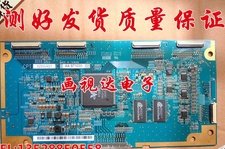 все цены на  32ta1600 logic board cpt 320wa01c aa screen claa320wa01   T-CON connect board  онлайн