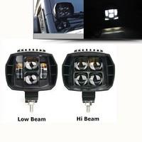 2pcs 5 Inch Led Work Light 12V 24V For Jeep JK 4x4 Offroad Trailer Motorcycle Truck Boat Pickup 4WD Spotlight Driving HeadLights
