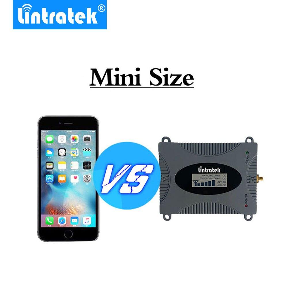 Lintratek Puissant GSM Répéteur 900 MHz LCD Affichage GSM Cellulaire Signal Booster UMTS 900 MHz Mini Téléphone Amplificateur MISE À JOUR #2017 - 4