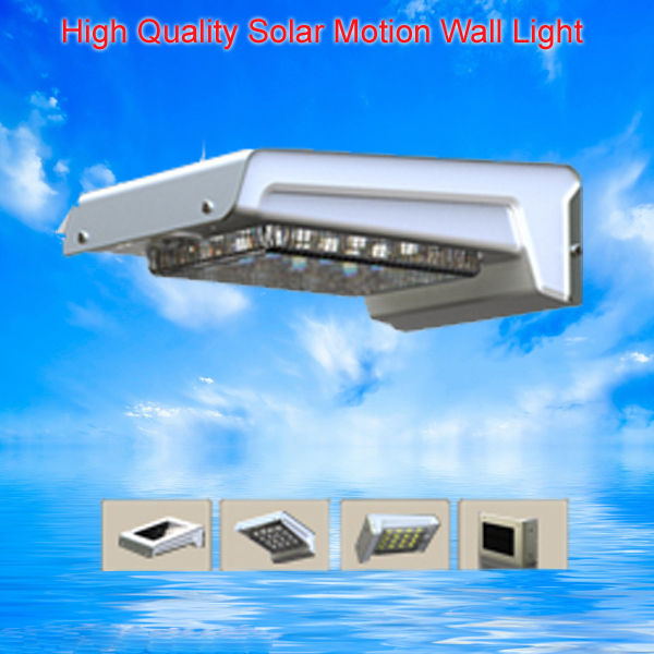 Eco Friendly Dual Working Model Solar Led Outdoor Wall Light With Waterproof Ip65