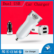 High quality Universal 2 Port 2.1A Quick Car-Charger Double Car Charger USB Socket For iPhone ipad Samsung Galaxy