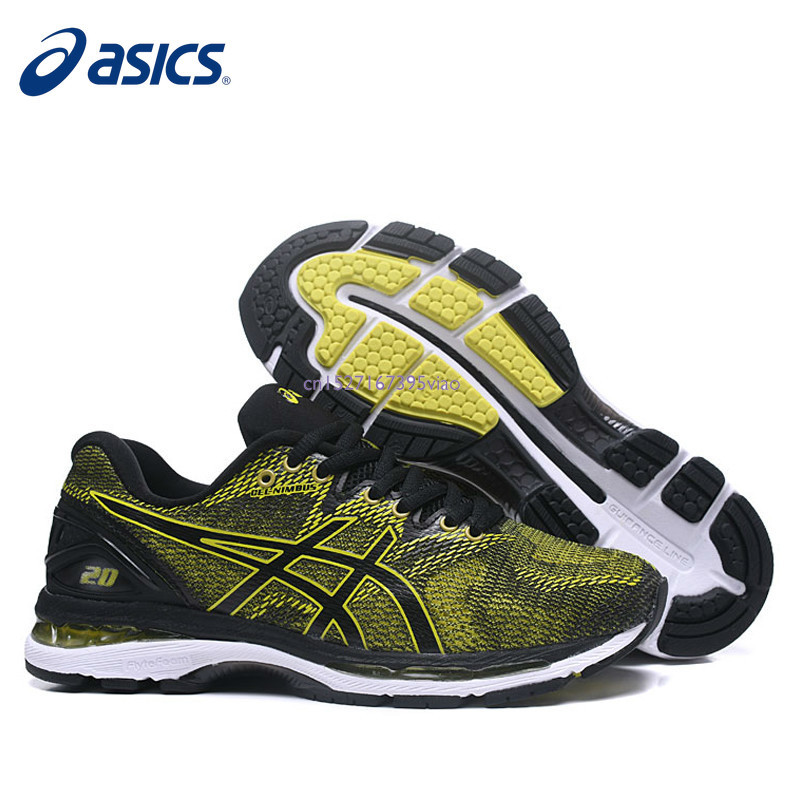 6481424780 ASICS GEL-Nimbus 20 Original Men s Sneakers Running Stability Asics Man s  Running Shoes Breathable Sports Shoes Running Shoes