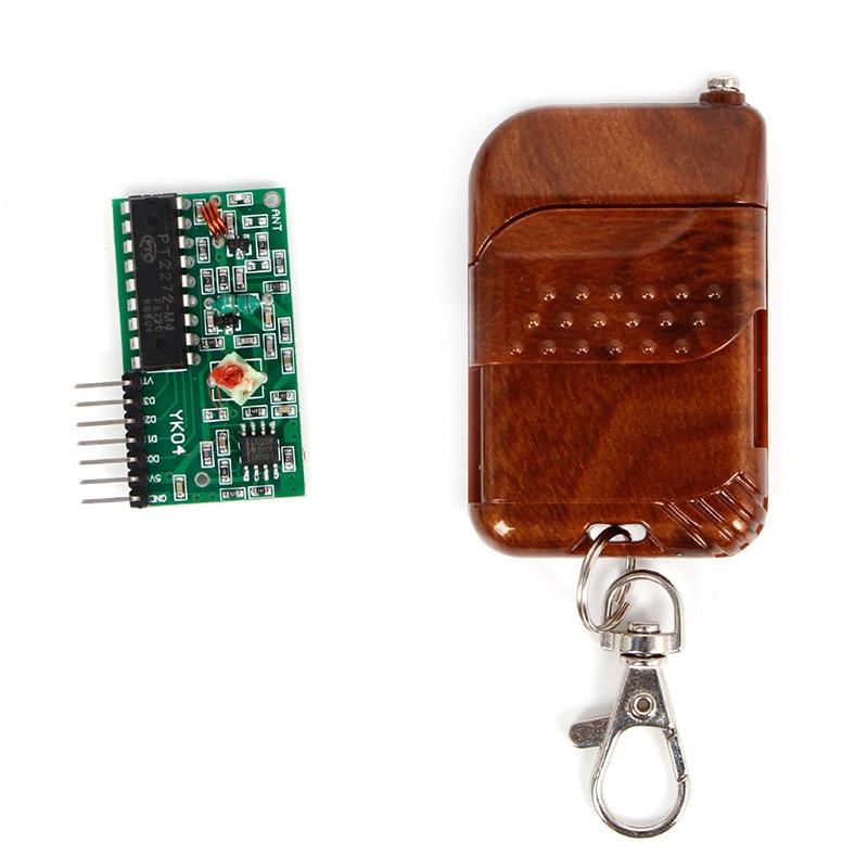 OOTDTY 2262 2272 4 CH 315Mhz Key Wireless Remote Control Kits Receiver Module For Arduino