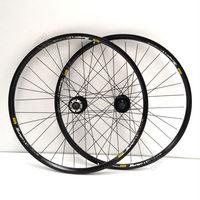 2 mountain bike wheels 26 inch spoked wheel group of 319 aluminum alloy rim +ANTAI Rotary type Flower drum