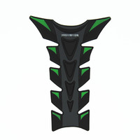 10pcs High Quality 3D Rubber Green Monster Decal Motorcycle Gas Tank Pad Protector Sticker QJC0272