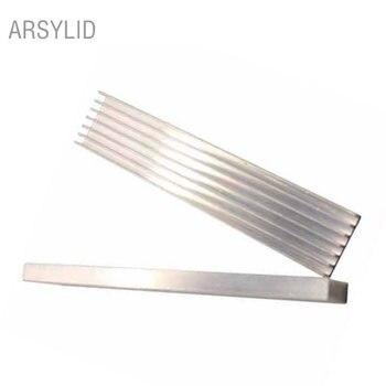 100x20x6mm 6pcs Extruded Aluminum heatsink IC Chip VGA Memory Routers Northbridge Southbridge CMOS radiator