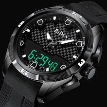 Men Military Watch Waterproof Wristwatch LED Quartz Clock Fashion Sport Watch Male relogio masculino S Shock Watch Men 2019 New цены онлайн