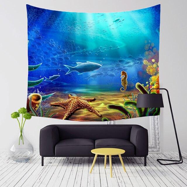 Magic Sea World Wall Tapestry 3