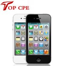 Iphone 4 завода Ori G инал разблокирована Apple IPhone 4, 8 GB/16 ГБ/32 ГБ сенсорный экран GPS WI-FI двойной 3 г Icould IOS 7 мобильного телефона