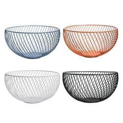 2018 New Nordic Storage Baskets Black Metal Art Snacks Candy Fruit Basket for Living Room Desktop Kitchen Organizer Basket