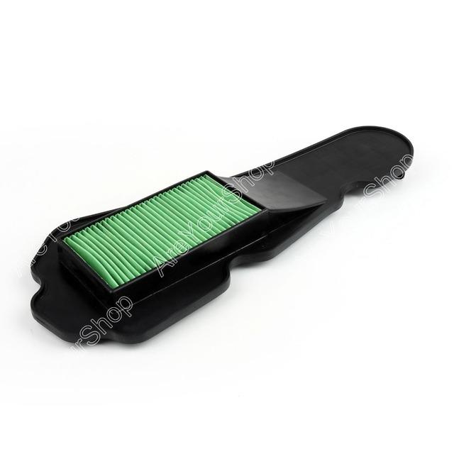 Venda 1 PC Para Filtro de Ar Da Motocicleta Universal Moto Filtro de Ar de Admissão de Plástico Verde Para Honda DIO VISÃO VISÃO NSC110 NSC50