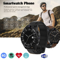 Спортивные Смарт часы 3 + 32 Гб 4 GSmart часы спортивные фитнес трекер частота сердечных сокращений GPS 5MP камера для Android умные часы 702