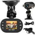 full hd 1920*1080p car black box/car dvr with 1.5'' TFT color display free shipping
