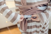 Maternity Nightgown for During Pregnancy and for Breastfeeding