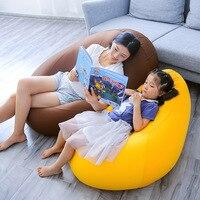Кровать totoro bean мешок ленивый стул диван креативность однотканевый beanbag стул детский диван спальня балкон Мода татами сумка с Тоторо
