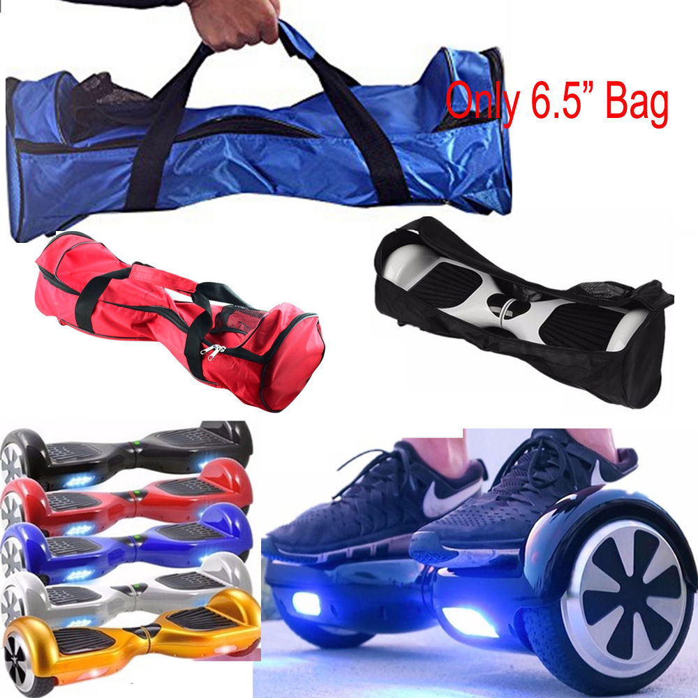 Novo 6.5/8/10 Polegadas Hoverboard Portátil Bolsa Bolsa de Transporte para 2 Rodas Equilíbrio Auto Scooter Elétrico Preto/azul