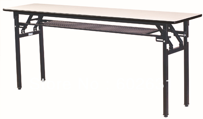 Folding hotel conference table