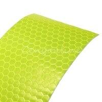 Для 300 см флуоресцентный желтый светоотражающий Детская безопасность Предупреждение видимости Клейкие ленты Безопасность на рабочем месте Предупреждение Клейкие ленты S