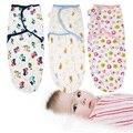 Ребенка пеленать 100% хлопок ребенка swaddleme wrap лето детские прием одеяла мешок сна младенца sleepsack конверты для новорожденных