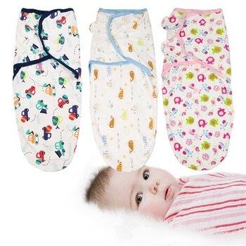 baby swaddle 100% cotton baby swaddleme wrap summer infant receiving blankets sleep bag baby sleepsack envelopes for newborns