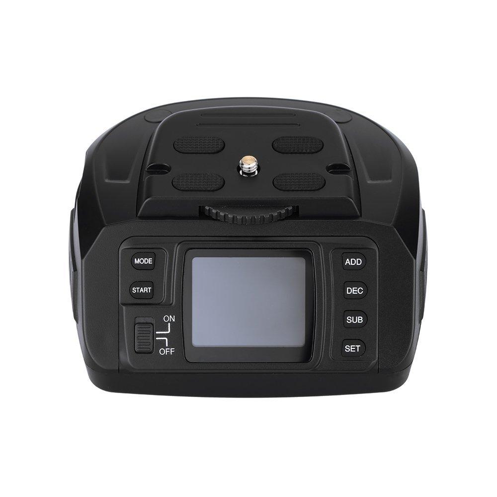 AD 10 Automatic Tripod Ballhead Panoramic Head Electronic Camera 360 Degree Tripod Heads for Canon Nikon