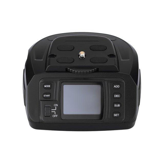 Sau Công Nguyên 10 Tự Động Chân Máy Tripod Ballhead Toàn Cảnh Đầu Điện Tử Camera 360 Độ Chân Máy Đầu Cho Canon/Nikon/Sony /Pentax Camera