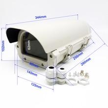 CCTV camera 256*125*102mm Housing Outdoor Waterproof Double Lock Waterproof Aluminium Cover kamera Housing case & Antidust